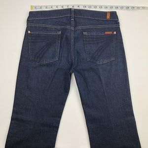 7 for all Mankind Jeans - 7 for all mankind Dojo Mercer Flare Jeans 30x31
